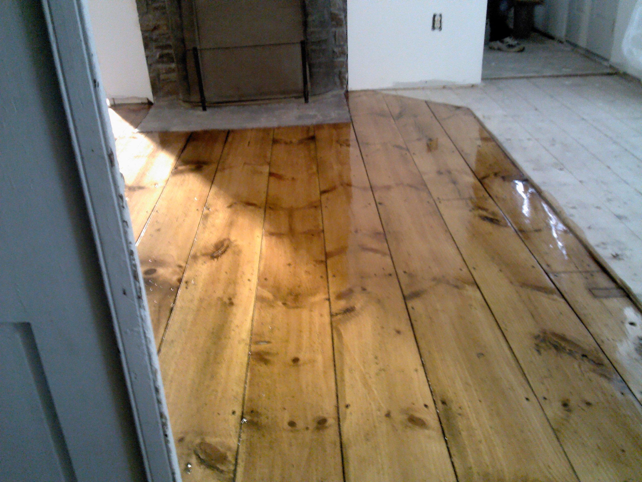 Do You Have Old Pine Floors Baker Floor Refinishing Llc